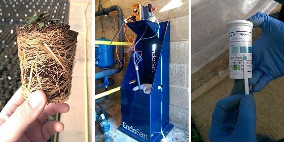 Endosan Hydrogen Peroxide treatment equipment
